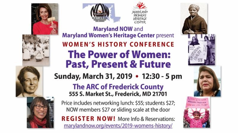 Maryland NOW & Maryland Women's Heritage Center present WOMEN'S HISTORY CONFERENCE