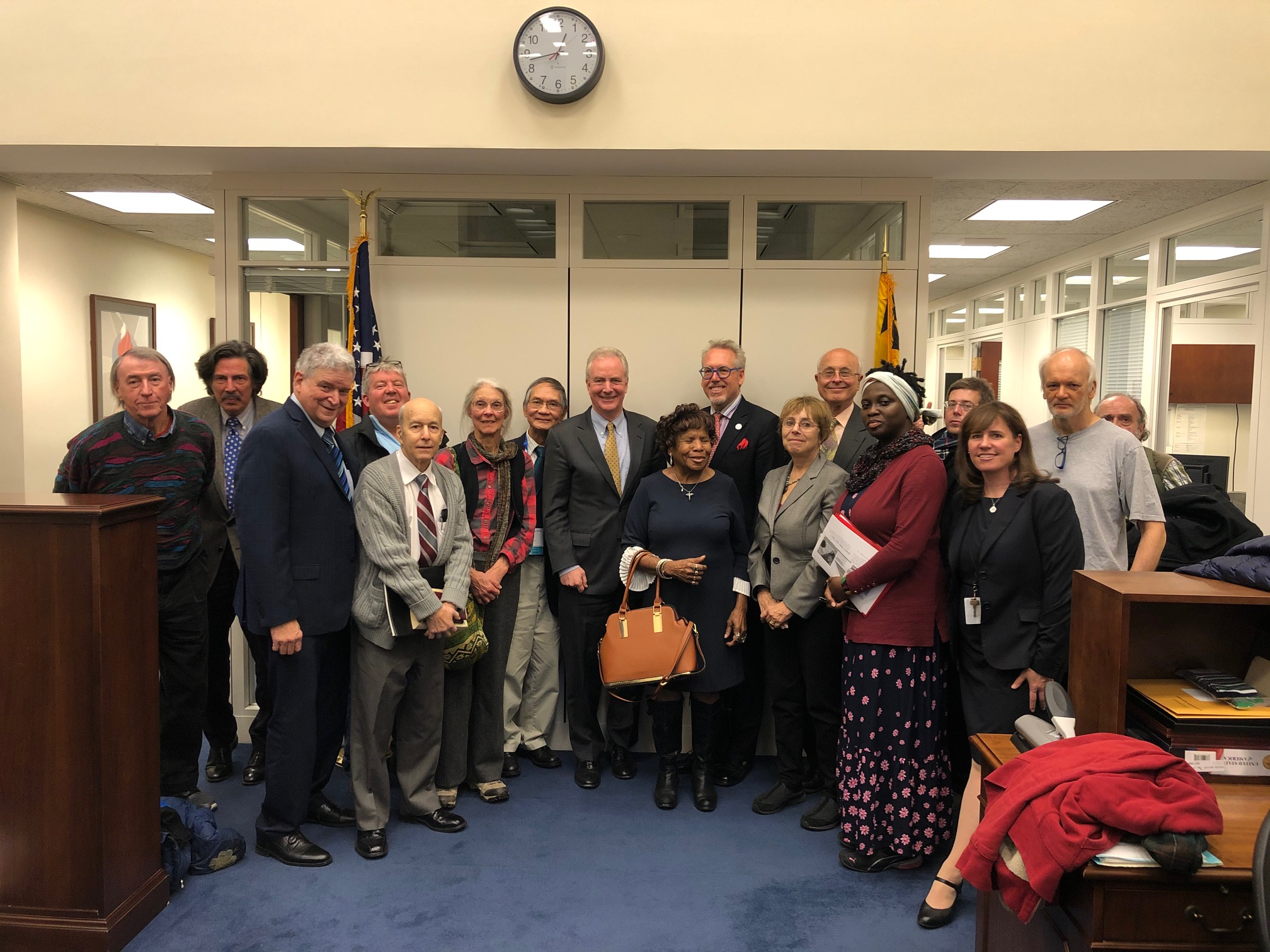 MUPJ and other Peace and Justice Groups Lobbying for the Ban of Nuclear Weapons on Capitol Hill