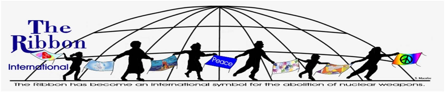 Peace Ribbon 2020  Commemorating the 75th Anniversary of Hiroshima and Nagasaki