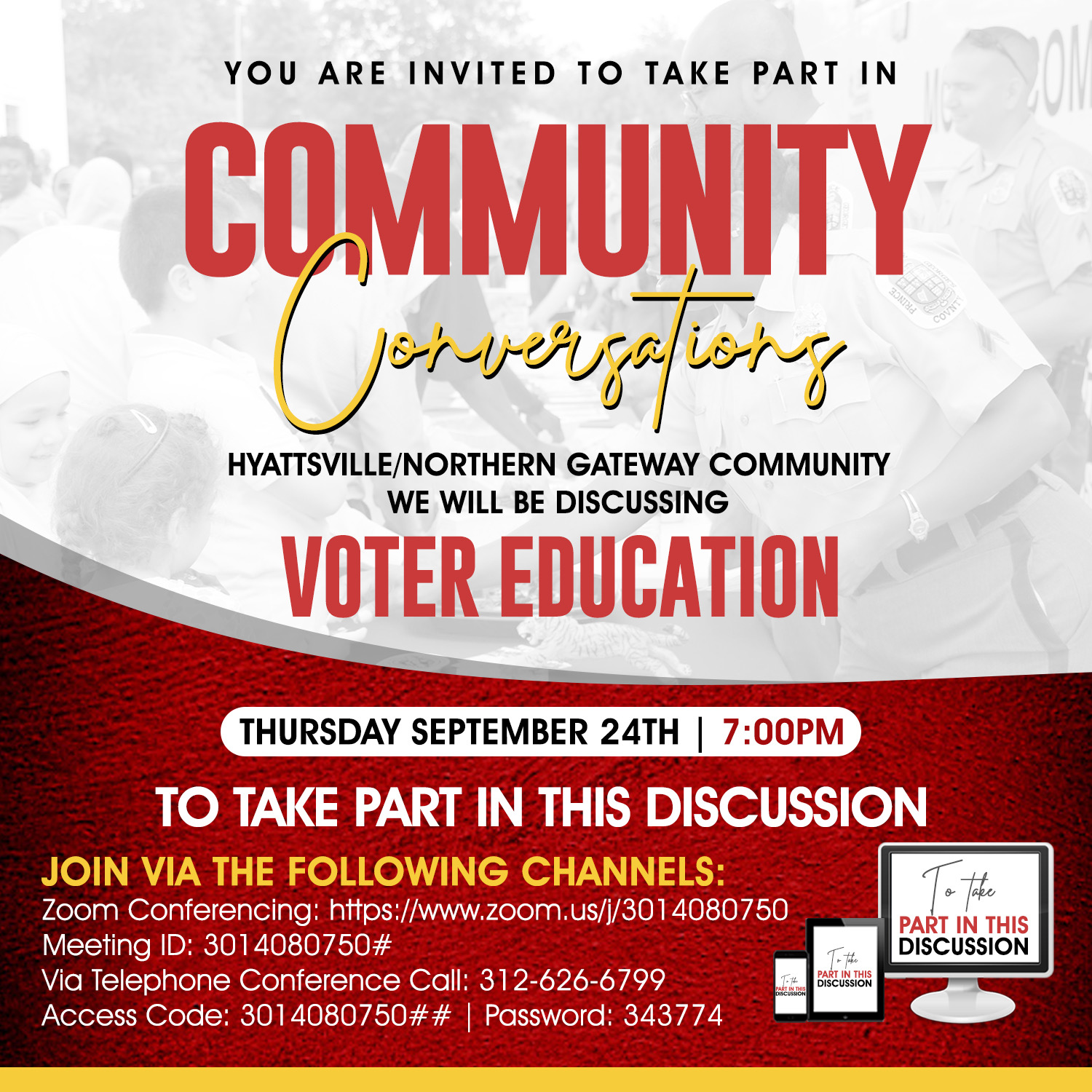 Community Conversations: Voting Education