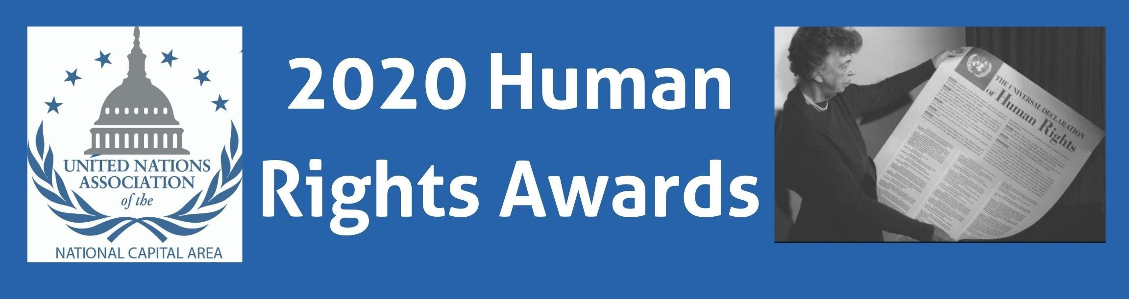 2020 Human Rights Awards – United Nations Association – National Capital Area (UNA-NCA)