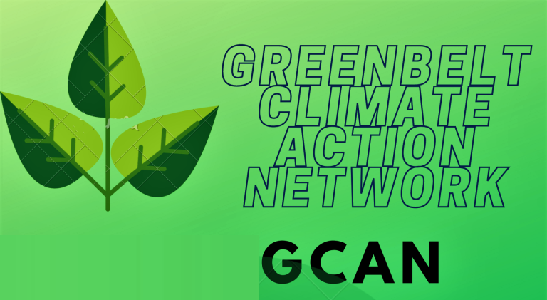 Join the next Greenbelt Climate Action Network (GCAN) meeting on Wed, Jan 13, 7-9 pm. via Zoom