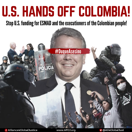 Colombia desperately needs your solidarity NOW–Massacre being perpetrated against protesters! ‌ ‌ ‌ ‌