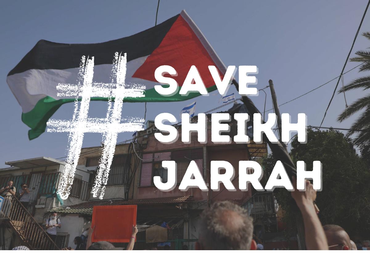URGENT: Draft email about Sheik Jarrah