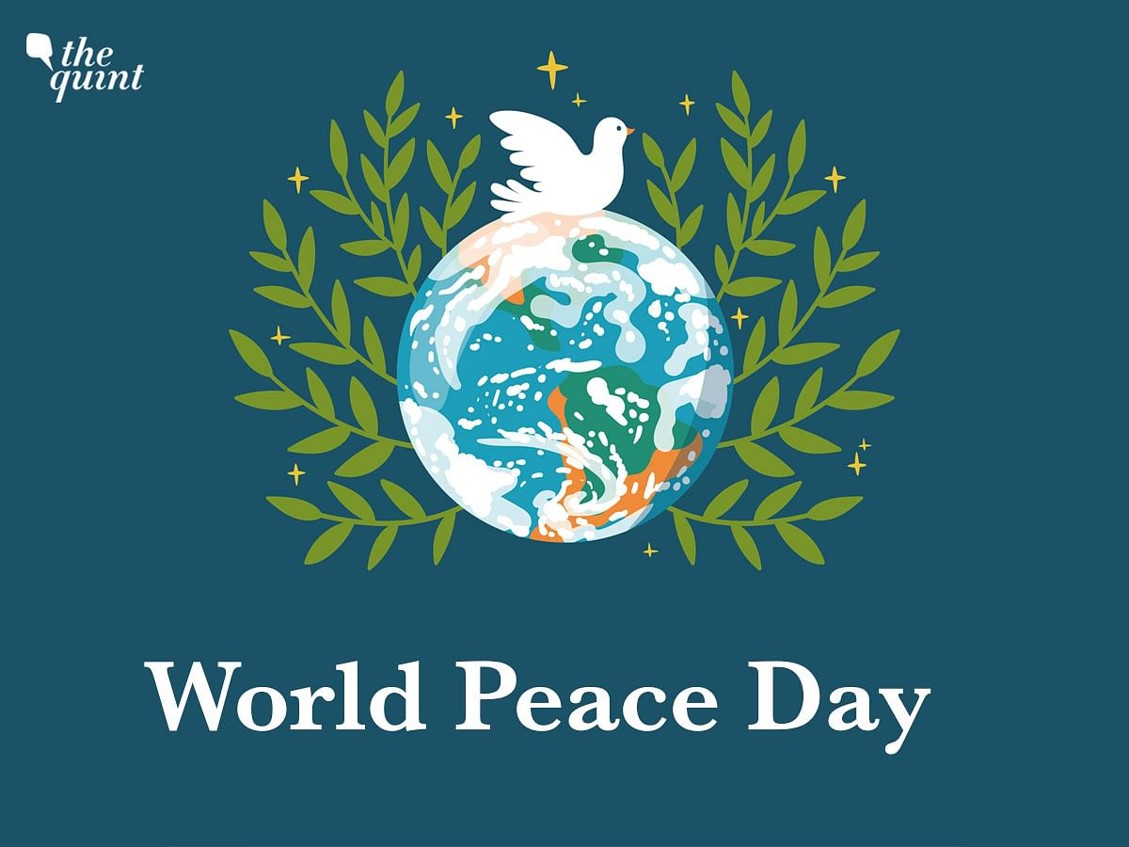 The 2021 theme for the International Day of Peace is 'Recovering better for an equitable and sustainable world'.